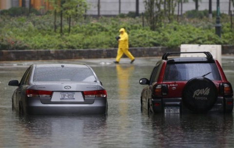 NYC Recovers after Being Spared by Irene: NYC Recovers after Being Spared by Irene