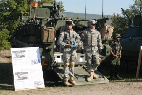 US Ambassador, Defense Minister Visit US-Bulgaria Military Drills: Ambassador, Defense Minister Watch US-Bulgaria Military Drills