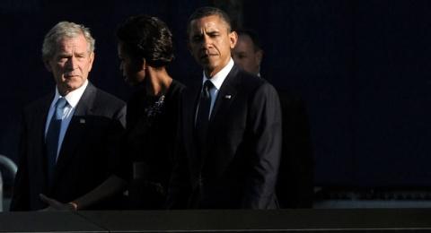 Bulgaria: Bush Refers to Civil War, Cites Lincoln at 9/11 Memorial