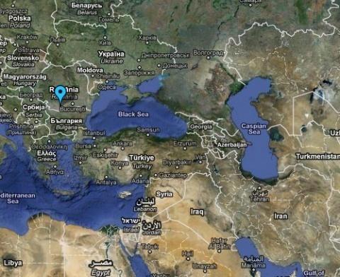 Romania US Ink Missile Defense Deal Novinitecom Sofia News - Romania in us map