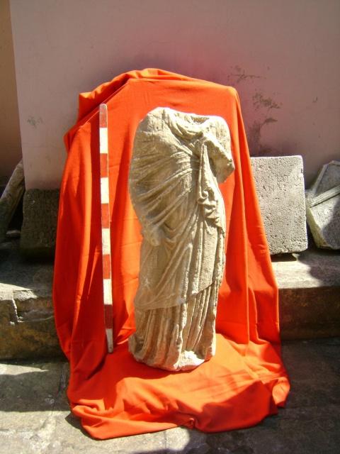 Bulgaria: Bulgarian Customs Capture Roman Statue at Turkish Border