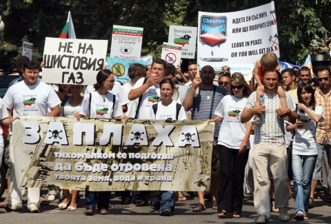 Bulgarian PM: Stop Irritating Me on Shale Has: Bulgarian PM: Stop Nagging Me on Shale Gas