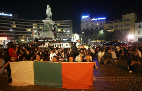 Bulgaria: Clashes between Protesters, Police Break Out in Sofia