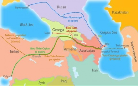 EU Urges Kazakhstan to Join Trans-Caspian Pipeline