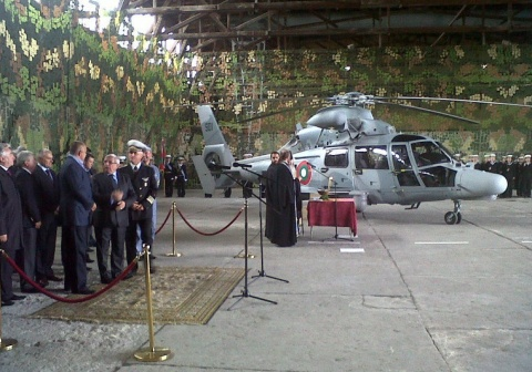 Bulgaria: Bulgarian Navy Finally Gets 1st Panther Helicopter in Troubled Eurocopter Deal