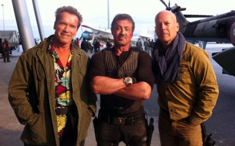 Bulgaria: Schwarzenegger: I Am Having Fantastic Time with Bruce, Sly in Bulgaria!