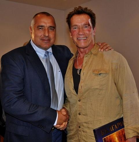 Schwarzenegger Guarded in Sofia by Notorious Bulgarian TIM Report: Schwarzenegger Guarded by Notorious Bulgarian TIM - Report