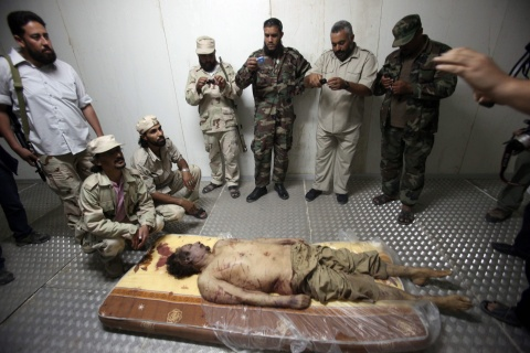 Bulgaria: Gaddafi Got Tortured, Then Shot by Libyan Rebels - Report