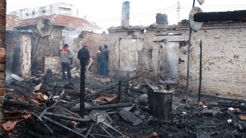 Bulgaria: Fire Claims Victim in Bulgaria's Burgas