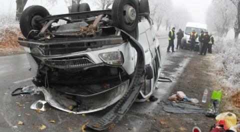 Overturned Van Injures 8 in NE Bulgaria: Overturned Van Injures 8 in NE Bulgaria