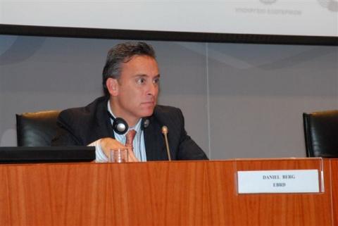 Bulgaria: Daniel Berg, Director, EBRD, Bulgaria