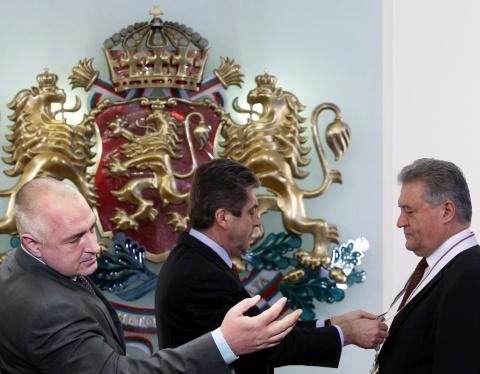 Bulgaria: Bulgaria's Vice President Returning Medal: PM Is Disgrace!