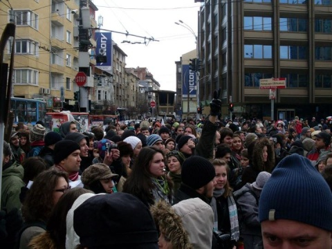 Bulgaria: Thousands Protest against Shale Gas in Bulgaria