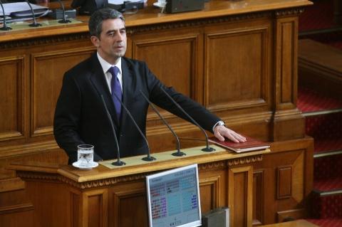 Bulgaria: Plevneliev Sworn In as President of Bulgaria