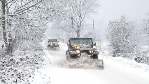 Snow Blockades Downtown Sofia Airport Reports Delays: Snow Blockades Downtown Sofia, Airport Reports Delays
