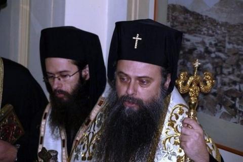 Plovdiv metropolitan bishop Nikolay. Photo by DarikRadio.bg