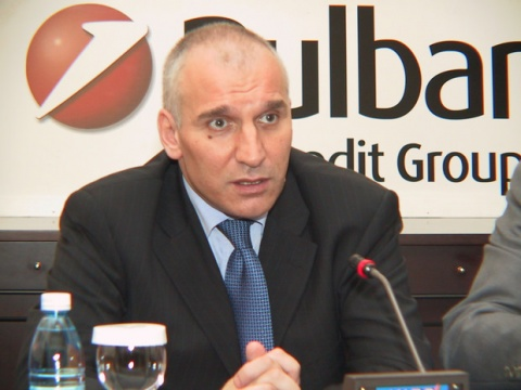 Bulgaria: UniCredit Bulbank CEO Levon Hampartzoumian: Banks in Bulgaria Not Growing, but Stable