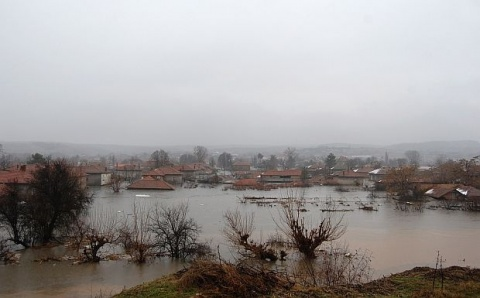 Bulgaria: Helicopters Evacuate People in Flooded Bulgarian Village