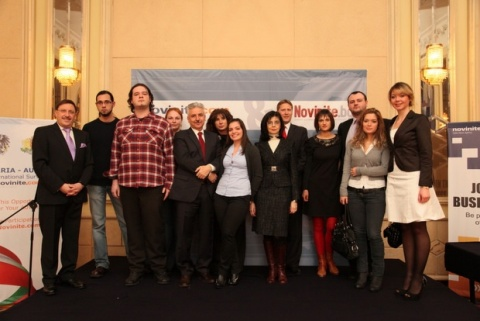 Bulgaria: Kuneva, Raychev, Maierhofer Awarded as Bulgaria's '2011 Personalities in the News'