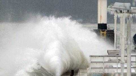 Winter 'Hurricane' Causes Severe Damage on Bulgaria's Coast: Winter 'Hurricane' Causes Severe Damage on Bulgaria's Coast
