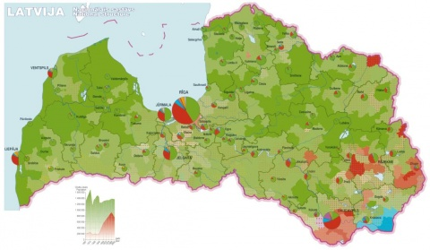 Russian Could Become Official EU Language Because Of Latvia - Russian language map