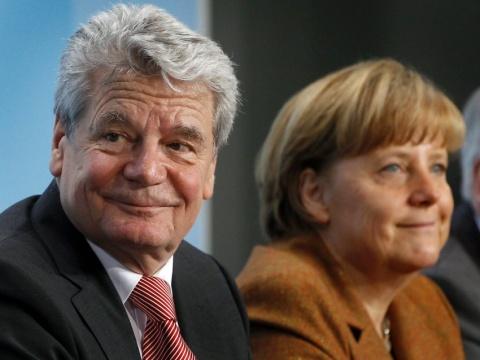 Bulgaria: Joachim Gauck Named Germany President as Merkel Gives In