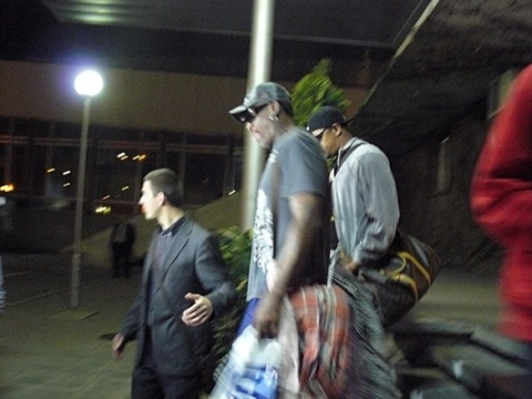 NBA Legend Rodman in Bulgaria: