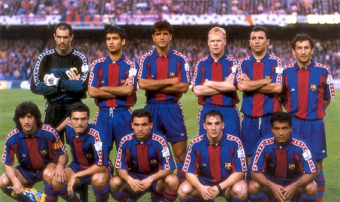 Dream Team 2001 1990s Barcelona Dream Team b