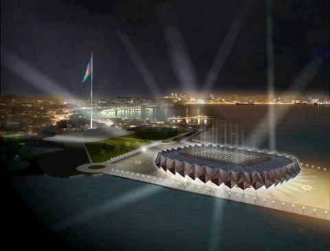 Eurovision 2012 Opens in Baku: Eurovision 2012 Opens in Baku