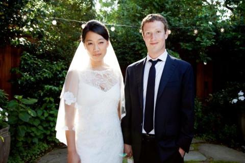 Facebook CEO Zuckerberg Ties Knot: Facebook CEO Zuckerberg Ties Knot