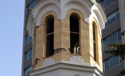 Pernik School Church Most Damaged from W Bulgaria Quake: Pernik School, Church Most Damaged from W Bulgaria Quake