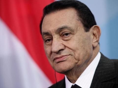 Egypt President Mubarak ex Egypt President Mubarak