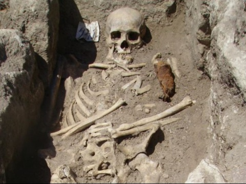 New Vampire Skeleton Found in Central Bulgaria: New Vampire Skeleton Found in Central Bulgaria