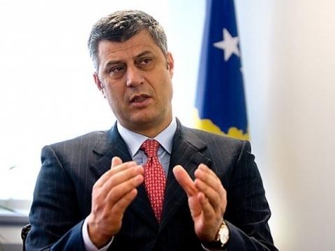 Hashim Thaci Kosovo Kosovo pm Hashim Thaci