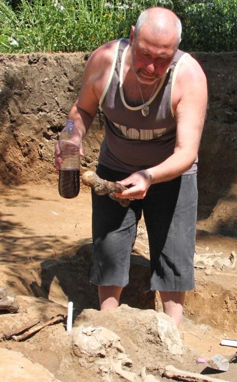 Bulgaria: Bulgarian Archaeologists Rebury Medieval 'Vampire'