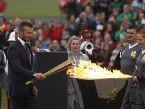 David Beckham Out of London 2012 Football Squad - Novinite.com ...