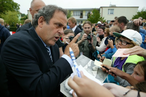 Bulgaria: Platini: Euro 2020 Should be Hosted by Entire Europe
