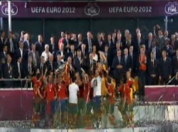 Bulgaria: Spain Crush Italy, Win Euro 2012 Title