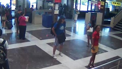 Selbstmordattentäter von Burgas im Bus-Terminal des Flughafens