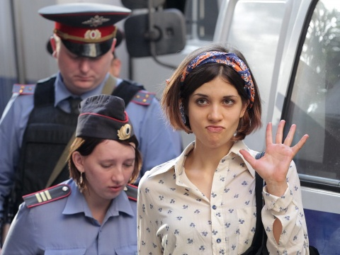 Bulgaria: Bomb Threat Interrupts 'Pussy Riot' Trial in Russia