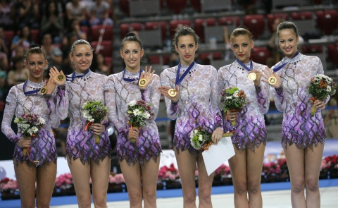 Bulgaria's Rhythmic Gymnastics Team Make It to London 2012 Finals ...