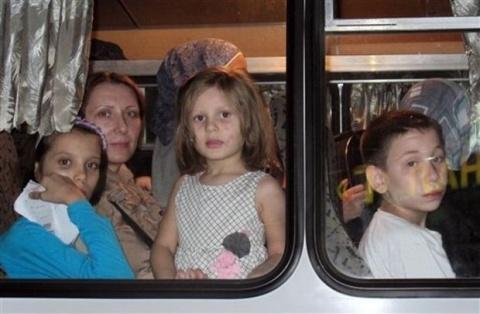 Bulgaria: 30 Ukrainian Kids Stranded on Bulgarian-Macedonian Border