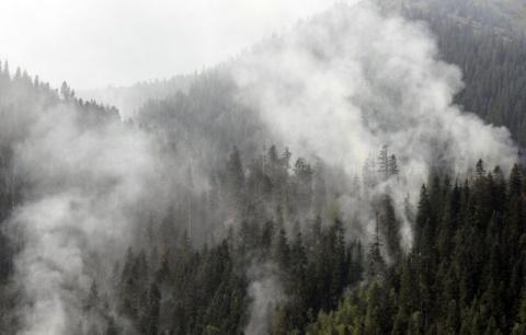 Wildfire in Bulgaria's Rila Mountain Enters Day 5: Wildfire in Bulgaria's Rila Mountain Enters Day 5