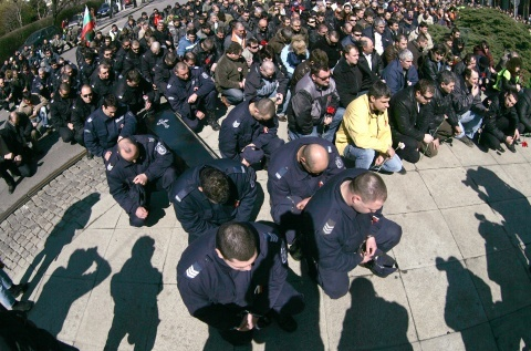 Bulgaria's Disgruntled Police Stage 2-Day Protests: Bulgaria's Disgruntled Police Stage 2-Day Protest Rallies
