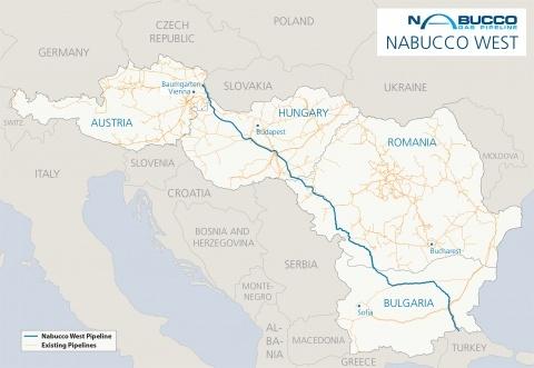 Bulgaria: Hungary's MOL Sees Stake in Nabucco Pipeline Drop
