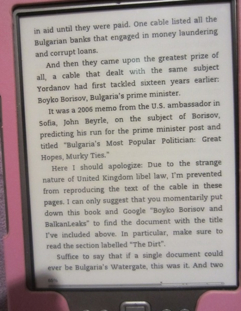 UK Censors US Book Info on Bulgarian PM Alleged Murky Past: UK Censors US Book Info on Bulgarian PM Alleged Murky Past