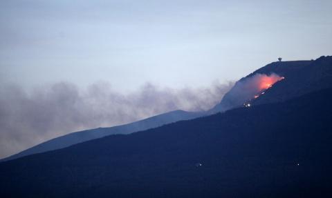 Bulgaria: Wildfire Near Bulgarian Capital Partially Tamed