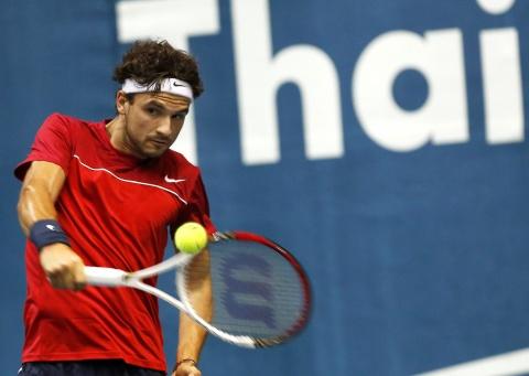 Bulgaria: Bulgaria' Grigor Dimitrov Faces Novak Djokovic