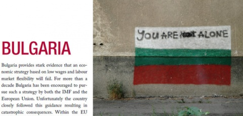 Bulgaria: ITUC Frontlines Report 2012: Section on Bulgaria