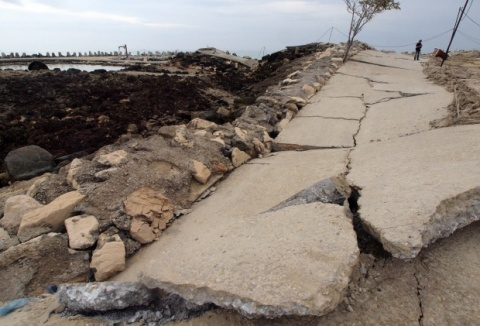 Huge Landslide Inflicts Damage on Bulgaria's Black Sea Coast: Huge Landslide Inflicts Damage on Bulgaria's Black Sea Coast